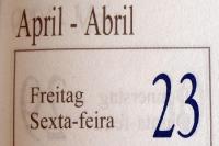 Der 23. April ...