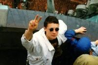 unterwegs im Sommer 1991 ...