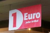 1 Euro jeder Artikel - Preisdumping ohne Ende