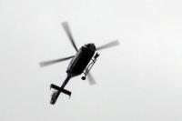 Polizeihelikopter im Einsatz