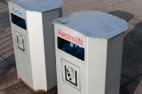 Mülltrennung ganz einfach: Papier und Restmüll, fertig ist der Müllsalat ...