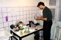 Das pralle Leben in einer Küche ...