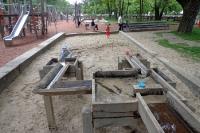 Spielplatz in Berlin im Park am Gleisdreieck