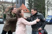 Streit auf der Straße