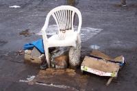 Grandiose Sitzmöglichkeit im Freien