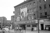 Gebäude in Ostberlin, Anfang 50er Jahre