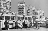 Bushaltestelle Karl-Marx-Allee, 70er jahre