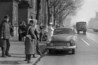 Polizeikontrolle in Ostberlin, 70er Jahre