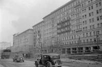 Stalinallee in Ostberlin, 50er Jahre