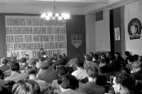 Tagung des Zentralrats in Ostberlin, 12.7.1950