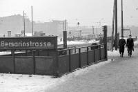 U-Bahnhof Bersarinstraße Anfang der 50er Jahre