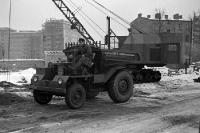 Bauarbeiten in Ostberlin Anfang der 50er Jahre