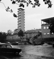 Müggelturm Anfang der 60er Jahre