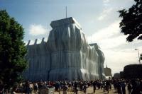 Verhüllter Berliner Reichstag, 1995