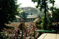 Love Parade in Berlin am Tauentzien, 1995