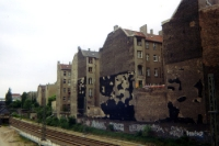 unsanierte Altbauten in Berlin Prenzlauer Berg, 1996
