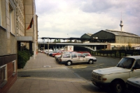 Schiffbauerdamm in Berlin-Mitte an der Spree, Sommer 1994