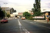 Friedrichstraße in Ostberlin 1990/91