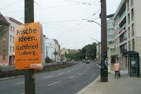 Wahlplakat der CDU in Berlin-Weißensee