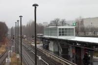 Berlin Marzahn an einem grauen Januartag
