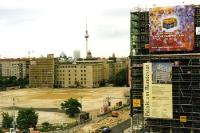 Bauarbeiten am Potsdamer Platz und am Leipziger Platz in Berlin-Mitte, Sommer 2000