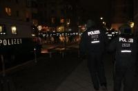 Polizei in Berlin Kreuzberg