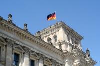 Deutscher Bundestag im Reichstag