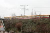 S-Bahn in Berlin Marzahn