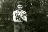 Jugendzeit: 1988 in der DDR mit Ami-Shirt