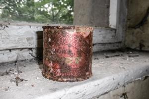 alte verrostete Dose aus der UdSSR