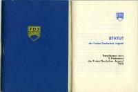 Statut der Freien Deutschen Jugend (FDJ) der DDR