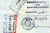 Aufenthaltsberechtigung für die Deutsche Demokratische Republik, PdVP, Dezember 1987