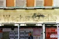 Einstige Wechselstelle am Ostbahnhof in Berlin