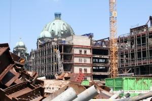 Palast der Republik - Abriss 2006