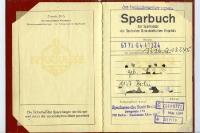 Sparbuch der Sparkassen der DDR, 80er Jahre