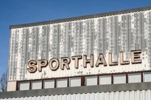Sporthalle aus DDR-Zeiten