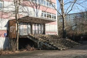 verlassene POS in Ost-Berlin