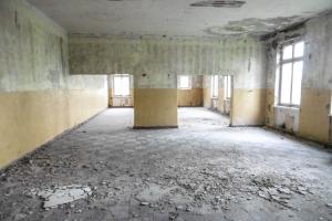 verlassener Militärstützpunkt