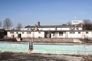 verlassenes Schwimmbad in Lichtenberg