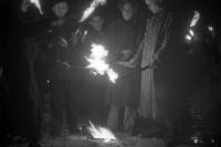 Es lebe Wilhelm Pieck! Fackelzug in der DDR / SBZ, Ostberlin 1949