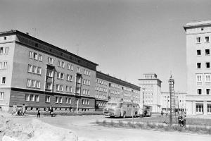 historische Stadtaufnahme von Rostock