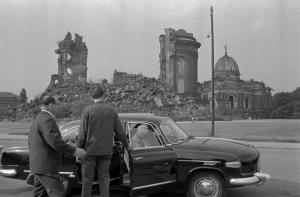 Ruine der Frauenkirche Dresden