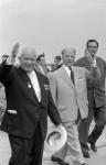 Walter Ulbricht und Nikita Chruschtschow