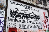 Bundesweite linke Demonstration in Hamburg, 21.12.2013