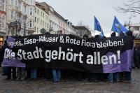 Rote Flora Demonstration in Hamburg, 21.12.2013