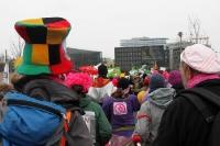 Kreativ & bunt auf der Demonstration: Wir haben es satt! Bauernhöfe statt Agrarindustrie.