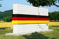 Mahnmal deutsche Einheit am Grenzmuseum Schifflersgrund
