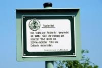 Fischerhof an der deutsch-deutschen Grenze: 1952 zwangsumgesiedelt, 1954 abgerissen