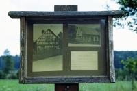 wo einst ein Bauernhof stand... Bilder des geschleiften Dorfes Billmuthausen