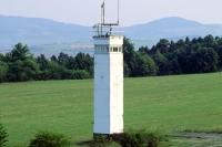 Beobachtungsturm am Point Alpha an der Fuldaer Lücke bei Geisa